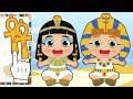 BABY ALEX AND LILY Dress up as Cleopatra and Tutankhamon | Educational Cartoons