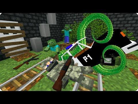 ПО СЛЕДАМ ВЫЖИВШЕГО! НАЗАД В БУНКЕР! ДЕНЬ 18. ЗОМБИ АПОКАЛИПСИС В МАЙНКРАФТ! - (Minecraft - Сериал)