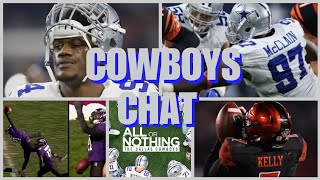 """COWBOYS CHAT: Gregory Applying; McClain Coming Back? Draft Recap, UDFAs, """"All Or Nothing"""", & More!"""