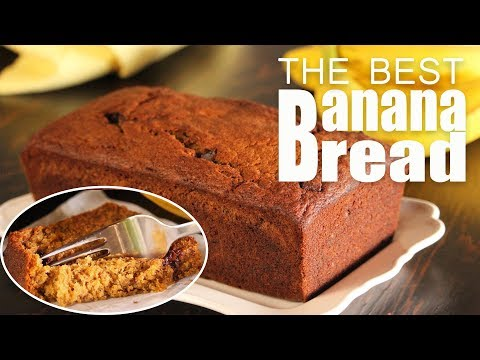 How To Make The Best Moist Banana Bread | How Tasty Channel