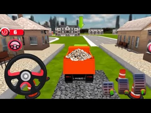 Kids 3D Train Cartoon Games Construck Railway - Train Line Construction - Cars And Train Video
