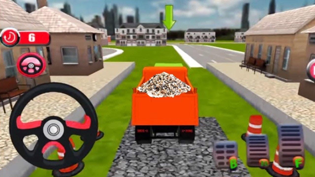Kids 3d Train Cartoon Games Construck Railway Train Line Construction Cars And Train