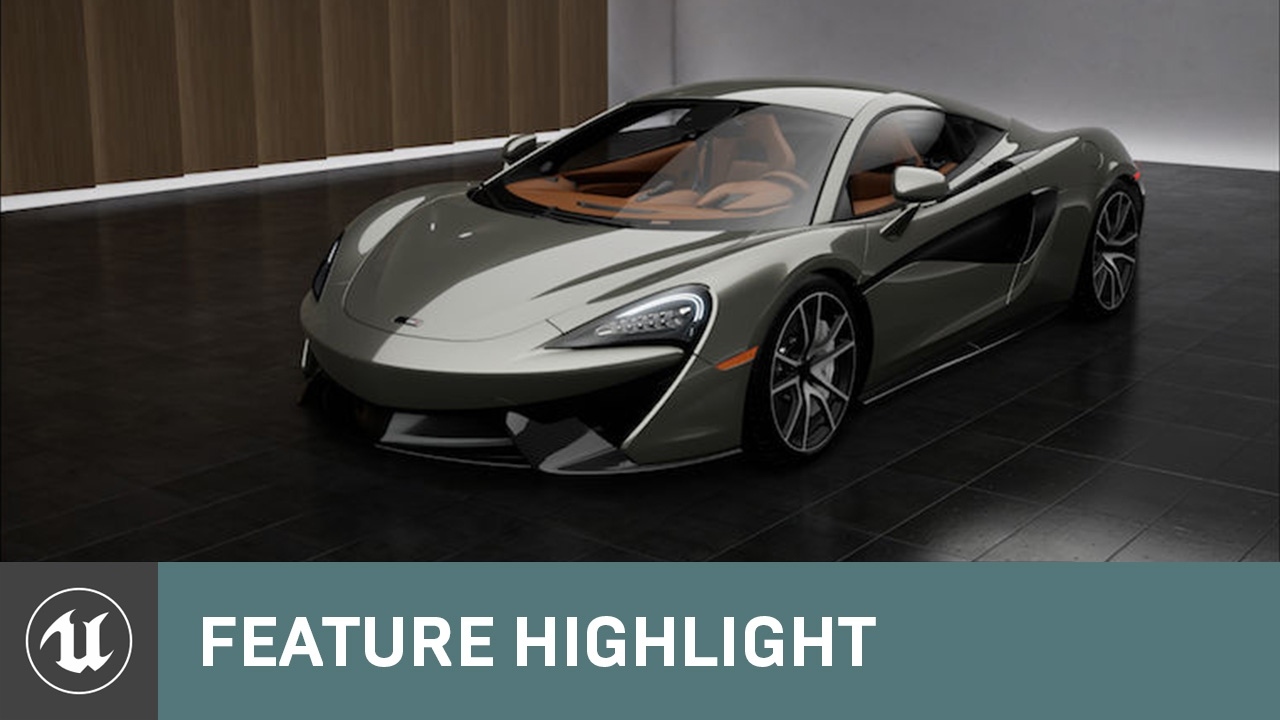 McLaren Car Paint materials demo map  Is is available