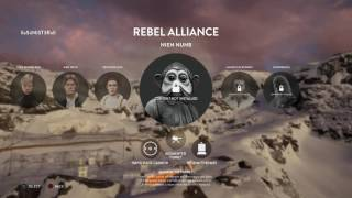 STAR WARS BATTLEFRONT 1VS1 WITH ANOSINIESTRO PS4