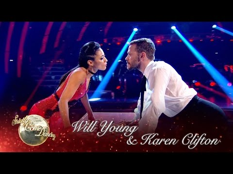 Will Young & Karen Clifton Tango to 'Let's Dance' - Strictly Come Dancing 2016: Week 1