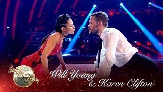 Will Young & Karen Clifton Tango to