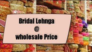 #Chandni #Chowk #wedding Lehenga | #Designer #Lehenga starting from 1000 | Designer #Bridal #Lehenga