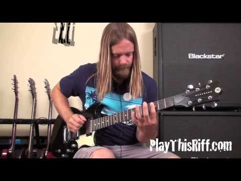 FU MANCHU Bob Balch (Soloing Tips) guitar lesson for PlayThisRiff.com