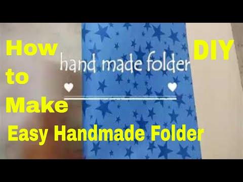 Handmade Folder How To Make Handmade Folder At Home Very Easiest