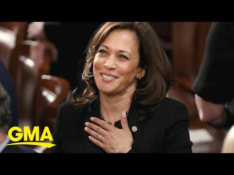 Kamala Harris makes history as first female vice president-elect
