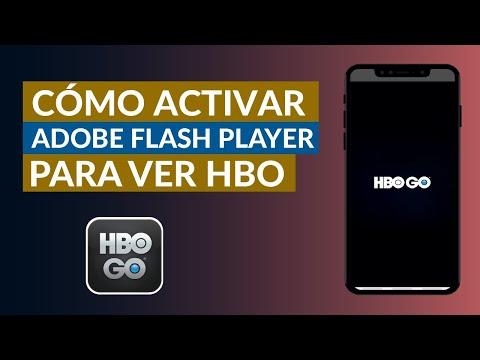 Cómo Activar Adobe Flash Player para Poder ver HBO