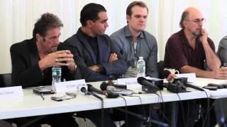 Al Pacino, Bobby Cannavale on 'Glengarry Glen Ross'