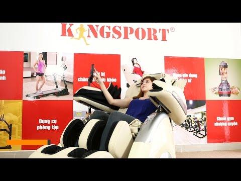 Ghế massage KINGSPORT mới nhất Việt Nam - Ghế massage toàn thân G05-1