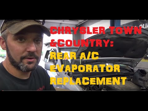 Chrysler Town & Country - Rear A/C Evaporator - Replacement