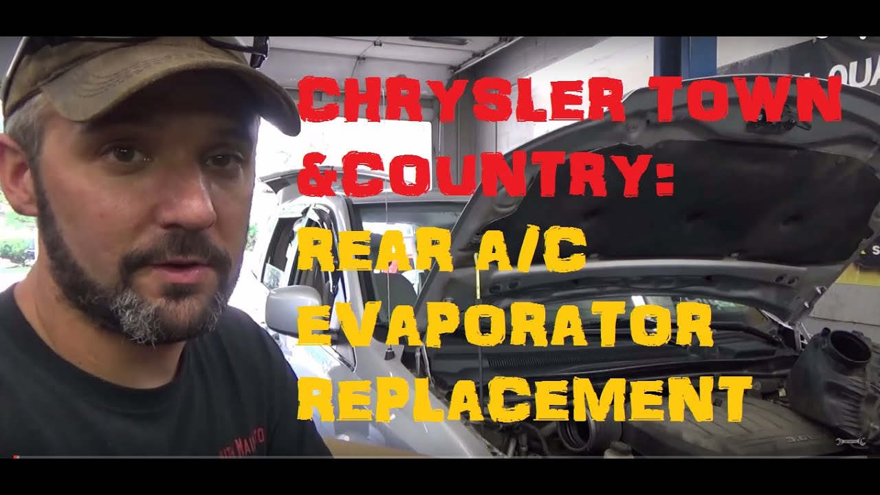 Chrysler Town Country Rear A C Evaporator Replacement Youtube