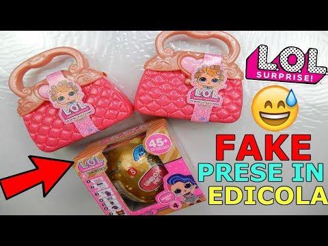 APRO LOL SURPRISE FALSE COMPRATE IN EDICOLA A 3 EURO! LOL NELLE BORSE FAKE! Iolanda Sweets