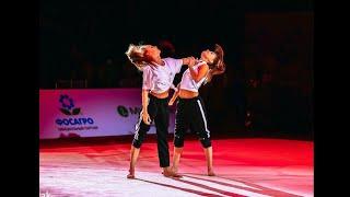1 Самые красивые и необычные показательные выступления гимнасток сборной России
