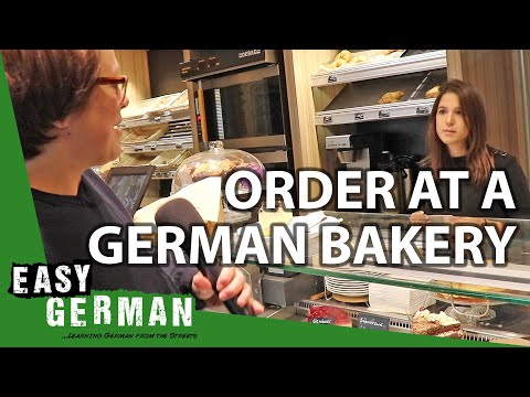 How to order something in a German bakery?   Super Easy German 104