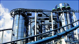 EUROPA PARK : EUROMIR ON RIDE WITH MUSIC FUNTAGE