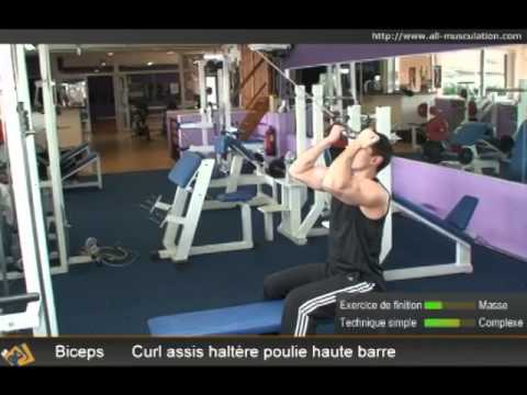 Top 5 Des Meilleurs Exercices De Biceps à La Poulie Musculation Des Bras Cable Curl Training Youtube