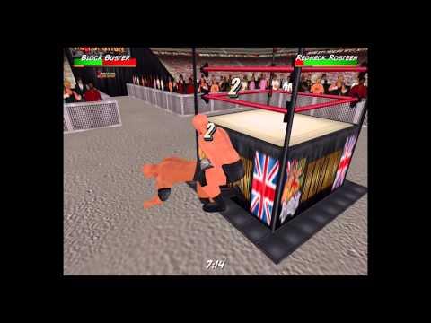 Stone cold wrestling in mini ring wrestling revolution 3d youtube