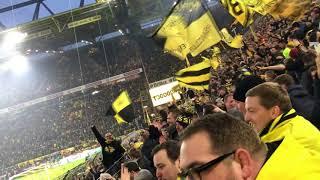 BVB Dortmund - HSV Hamburg 2:0 10.02.2018 Highlights von der Südtribüne. Empfang Marco Reus