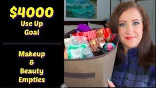 $4000 Use Up Goal Update / January Makeup & Beauty Empties | Jessica Lee