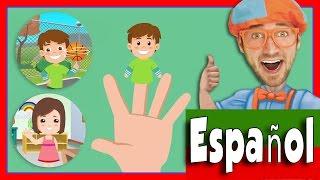 Canción de la Familia Dedo | Canciones para niños Blippi Español