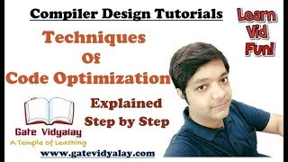 Code Optimization Techniques in Compiler Design