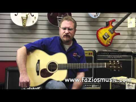 Dana Bourgeois Custom Vintage OM Acoustic Guitar Test Drive