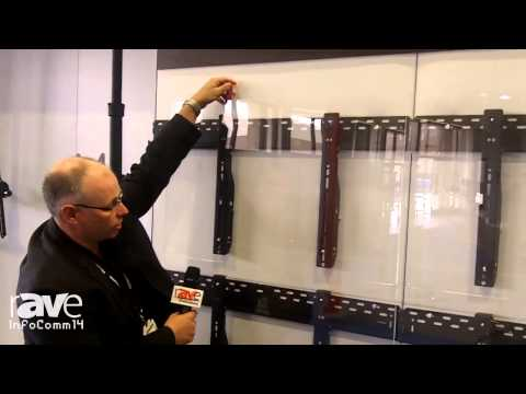 InfoComm 2014: Atdec Showcases the Telehook ProAV Video Wall Mount