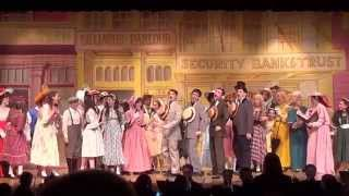 Wells Fargo Wagon - OHS The Music Man 2015
