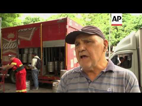 Brazilians react to recent corruption probe