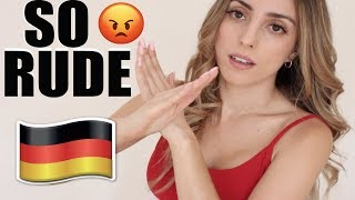 ARE GERMANS RUDE?
