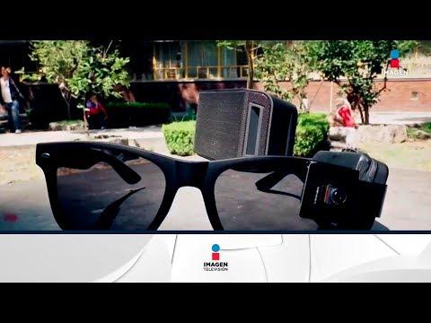UNAM crea lentes inteligentes para personas con debilidad visual   Noticias con Francisco Zea