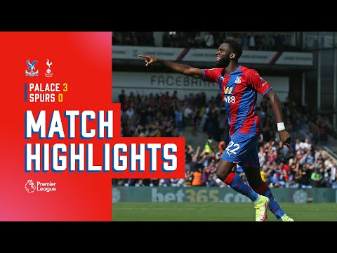 Edouard's double leads the Eagles to beat Spurs to the top of the table |  Match action