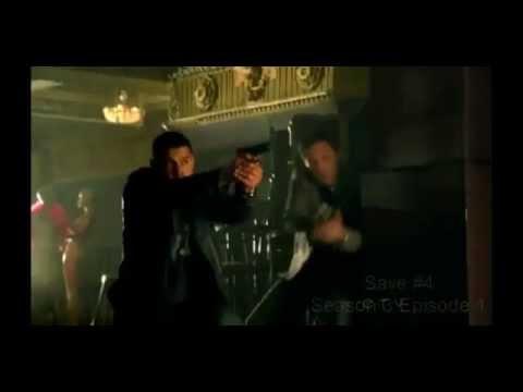 CASTLE- Castle saves Beckett