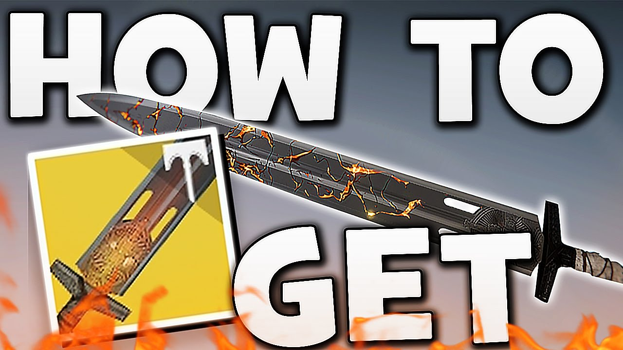 how to get the exotic sword destiny 2