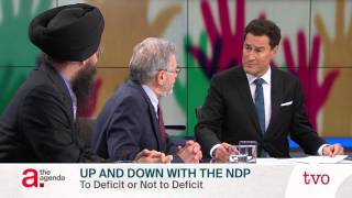 Up and Down with the NDP