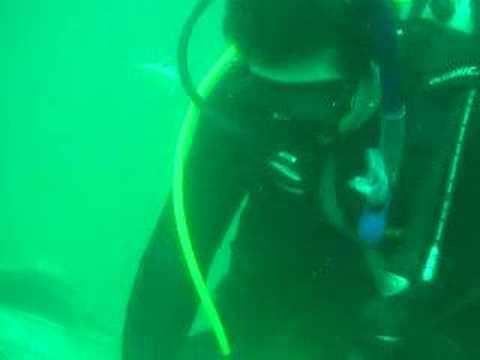 Jess Carving Underwater 2