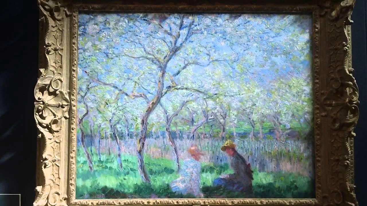 Springtime 1886 Claude Monet 1840-1926 Fitzwilliam Museum Cambridge ...