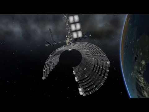Huge Space Station Dock - Stock Kerbal Space Program 1.2.2