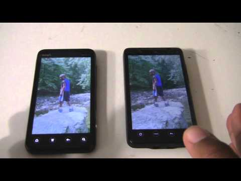 HTC Evo 4G Vs Evo 3D