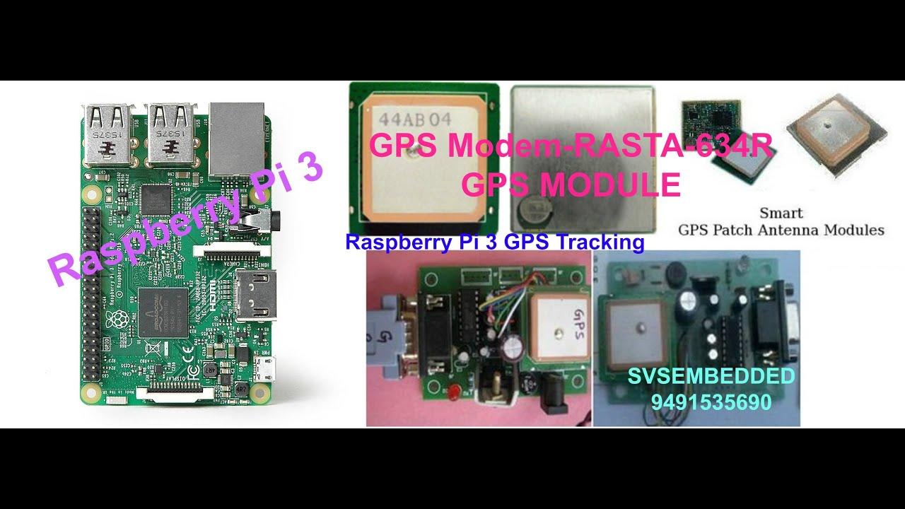 Raspberry Pi 3 GPS Tracking System