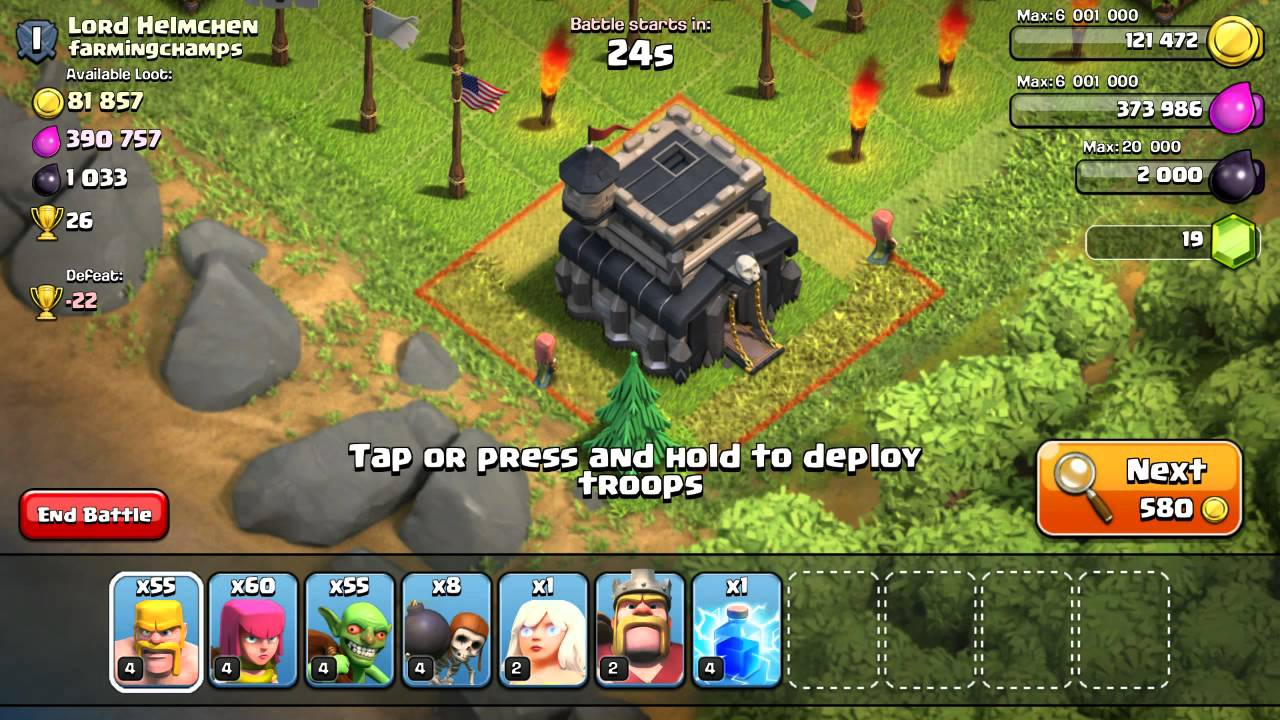 how to get trophies in clash of clans cheat