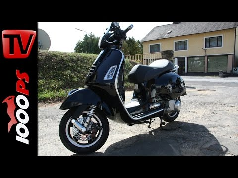 1000PS Rollerduell Vespa GTS 300 STC