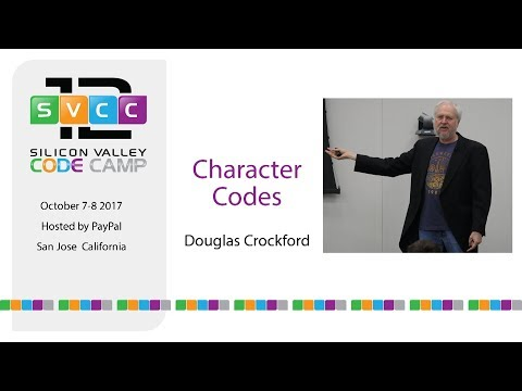 Character Sets At Silicon Valley Code Camp 2017