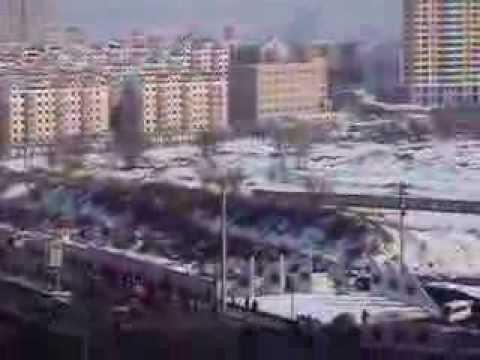 Traffic in Harbin, China 中国,哈尔滨的交通