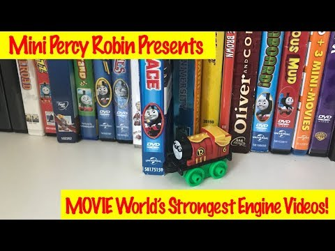 Thomas & Friends Best Movir World's Strongest Engine with Robin Mini Percy