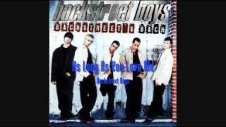 Backstreet Boys - As Long As You Love Me (HQ)